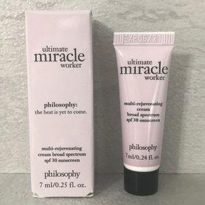 💄 5/$15 Philosophy Ultimate Miracle Worker Cream